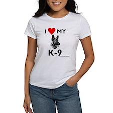 """I Love My K-9"" Tee"