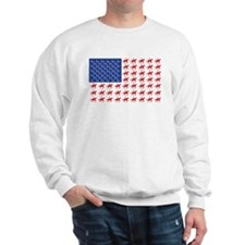 Original Patriotic Horse Flag Sweatshirt