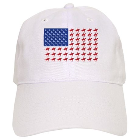 Original Patriotic Horse Flag Cap