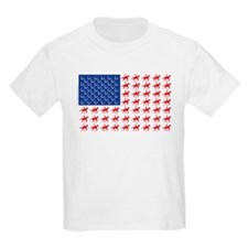 Original Patriotic Horse Flag T-Shirt