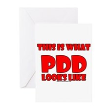 This Is What PDD Looks Like Greeting Cards (Pk of