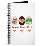Peace Love Run Runner Journal