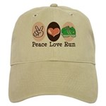 Peace Love Run Runner Cap
