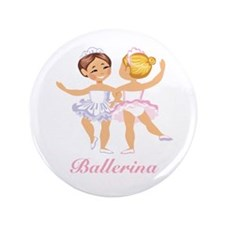 "Ballerina 3.5"" Button"