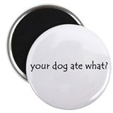 your dog ate what? Magnet