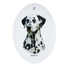 Dalmatian 9T004D-367 Ornament (Oval)