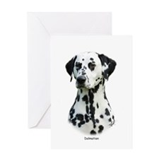 Dalmatian 9T004D-367 Greeting Card