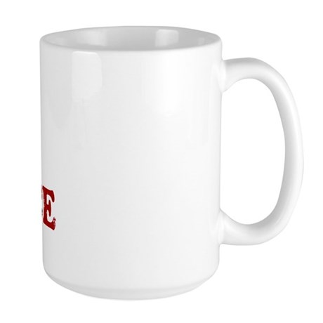 i love science Large Mug