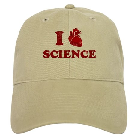 i love science Cap