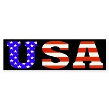 USA Stars n Stripes! Bumper Bumper Sticker