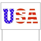 USA Stars n Stripes! Yard Sign