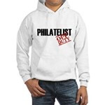 Off Duty Philatelist Hooded Sweatshirt