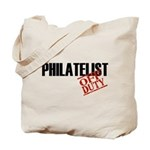 Off Duty Philatelist Tote Bag