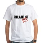 Off Duty Philatelist White T-Shirt