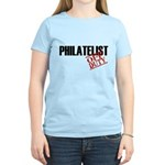 Off Duty Philatelist Women's Light T-Shirt