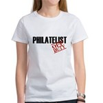 Off Duty Philatelist Women's T-Shirt