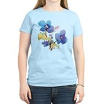 Watercolor Flowers Women's Light T-Shirt