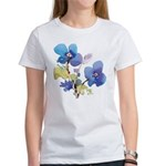 Watercolor Flowers Women's T-Shirt