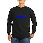Softball Autistic T Long Sleeve Dark T-Shirt