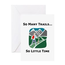 So Many Trails Greeting Card