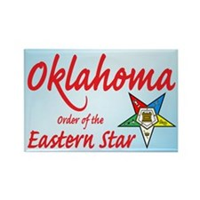 Oklahoma Eastern Star Rectangle Magnet (100 pack)