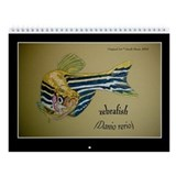 Zebrafish Wall Calendar