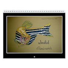 Zebrafish Wall Calendar