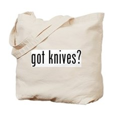 got knives? Tote Bag