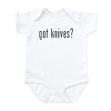 got knives? Infant Bodysuit