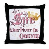 Obeyed Throw Pillow