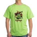 Butterfly Kansas Green T-Shirt