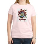 Butterfly Kansas Women's Light T-Shirt
