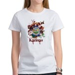 Butterfly Kansas Women's T-Shirt