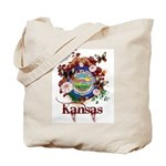 Butterfly Kansas Tote Bag