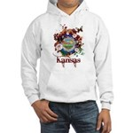 Butterfly Kansas Hooded Sweatshirt