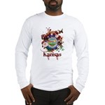 Butterfly Kansas Long Sleeve T-Shirt