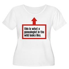 In The Wild Women's Plus Size Scoop Neck T-Shirt