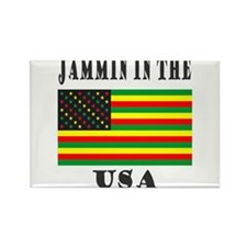 'Jammin in the USA' Rectangle Magnet