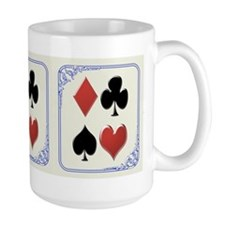 Diamond, Club, Spade, Heart - Mug