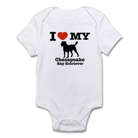 I love my Chesapeake bay retriever Infant Bodysuit