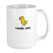 Fishing Chick Mug