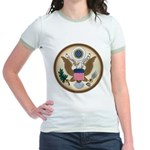 Presidents Seal Jr. Ringer T-Shirt