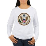 Presidents Seal Women's Long Sleeve T-Shirt