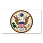 Presidents Seal Rectangle Sticker