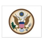 Presidents Seal Small Poster