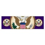 Presidents Seal Bumper Sticker (50 pk)