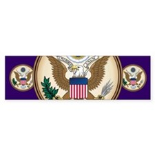 Presidents Seal Bumper Sticker (10 pk)