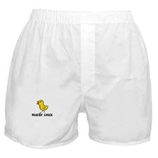 Rugby Chick Boxer Shorts