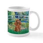 Lily Pond Bridge/Poodle (apri Mug