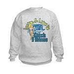 Love 'em & Leave 'em Kids Sweatshirt